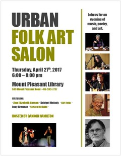 April Urban Folk Art Salon